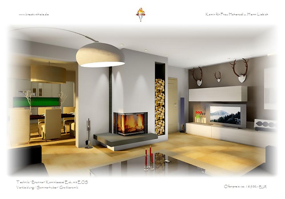 eckkamin modern eckkamin modern inspirierendes design f r. Black Bedroom Furniture Sets. Home Design Ideas
