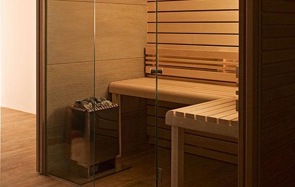 sauna and fountain ceramic